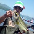 M君!山中湖で44cm