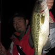 高滝湖!40cm