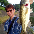 TAKEさん!高滝湖で43cm