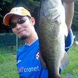 パル佐野 パワービルで初の釣果は43cm